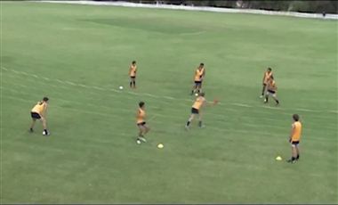 AFL Training Drills: Spin Out of Trouble