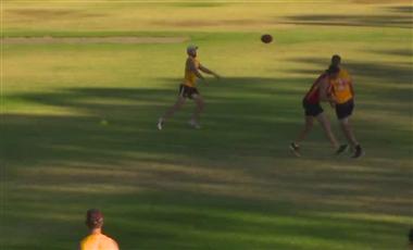 Training For AFL: Backdoor Switch Handball