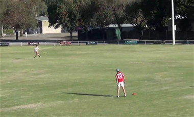 Aussie Rules Training Drills: Defensive and Infield Switches