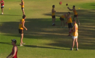 Drills For AFL Players: Tap and Crumb