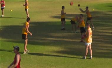 AFL Coaching Drills: Tap and Crumb