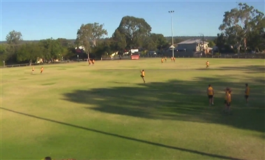 AFL Football Training: Kick and Stand the Mark
