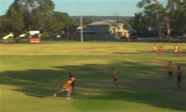 AFL Kicking Drills: Work around the Marking Player