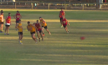 Drills For AFL Players: 2-on-2 Goalscoring