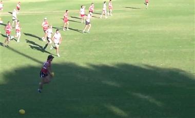 AFL Kicking Drills: Kick to Forward Options
