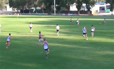 AFL Kicking Drills: Circle Tag Goalkicking