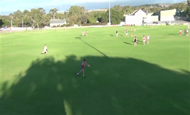 AFL Training For Players: Centering Kick or Shot