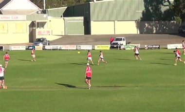 Drills For AFL Players: 4 Group Competitive Goal