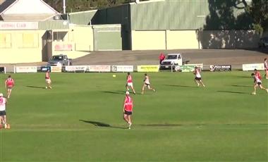 AFL Training Program: 4 Group Competitive Goal