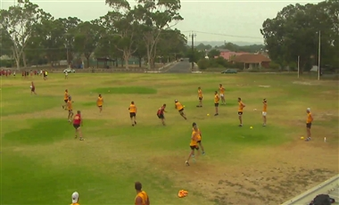 AFL Training For Players: Draw and Create a Loose Man
