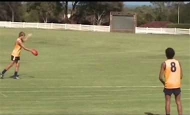 AFL Coaching Program: Standing Kick