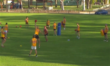 AFL Training For Players: Multi-effort Square
