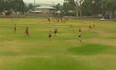 AFL Football Drills: 3-on-3-on-3