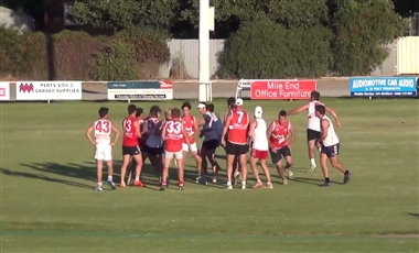 Footy Drills: Huddle and Break