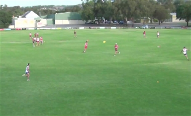 AFL Kicking Drills: Right Choice Inside 50
