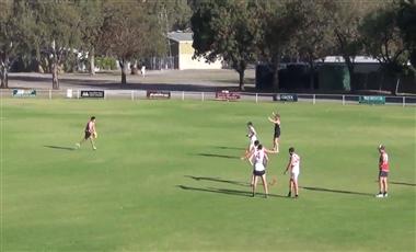 AFL Kicking Drills: Split the Centre Goalkicking