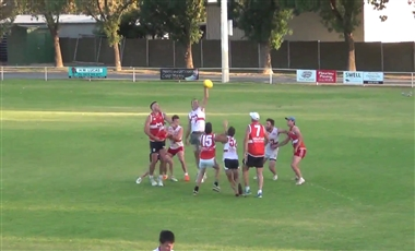 Aussie Rules Training Drills: Jump Early Ruckwork