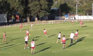 AFL Kicking Drills: Football Netball
