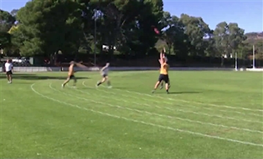 AFL Kicking Drills: Judging the Throw-in
