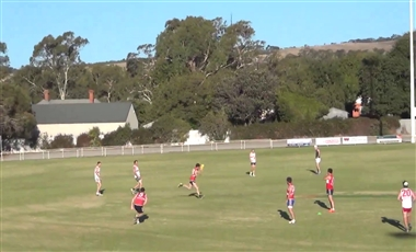 Aussie Rules Training Drills: Rebound with Crumb and 2-on-1