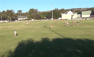 AFL Football Training Drills: Quick Full Oval Transition with 2-on-1