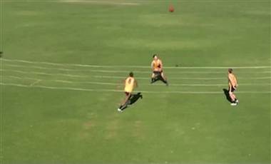 AFL Football Drills: Roving Repetition