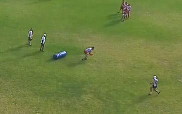 AFL Football Drills: Tackle, Second Effort