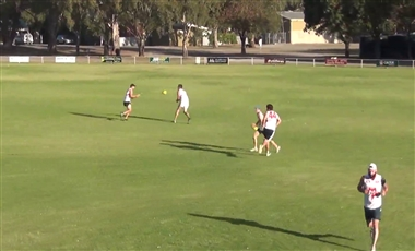 AFL Football Drills: Second and Third Effort Trio