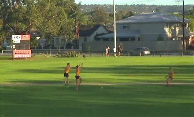 Training For AFL: Marking Contest Middle