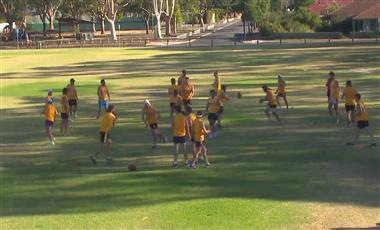Drills For AFL Players: Propeller Handball