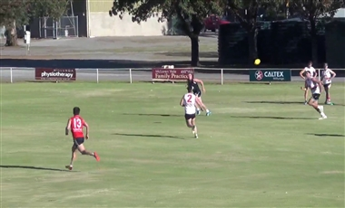AFL Training For Players: Opposite Corner Crumbers