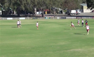 AFL Training For Players: Front and Square Cutover