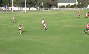 AFL Training For Players: Link Man in Defence