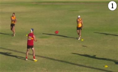 Drills For AFL Players: Last Man Standing Skills Pentathlon