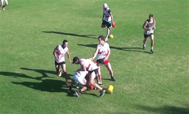 AFL Coaching Drills: Thieving Magpies