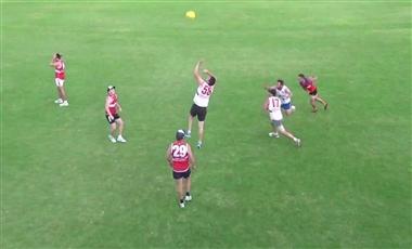AFL Training Drills: Ruck `O `Clock