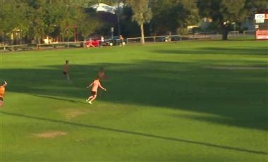 AFL Coaching Drills: Breakaway Defenders
